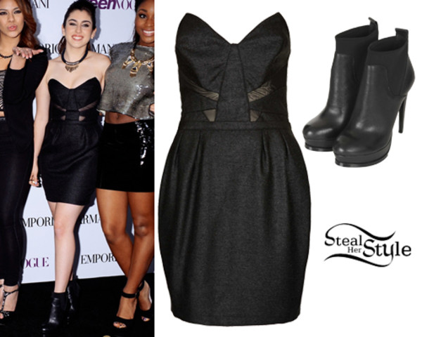 black dress lauren jauregui