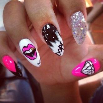 nail accessories sparkly nail polish