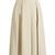 Kanu ultra-soft cotton pleated midi skirt