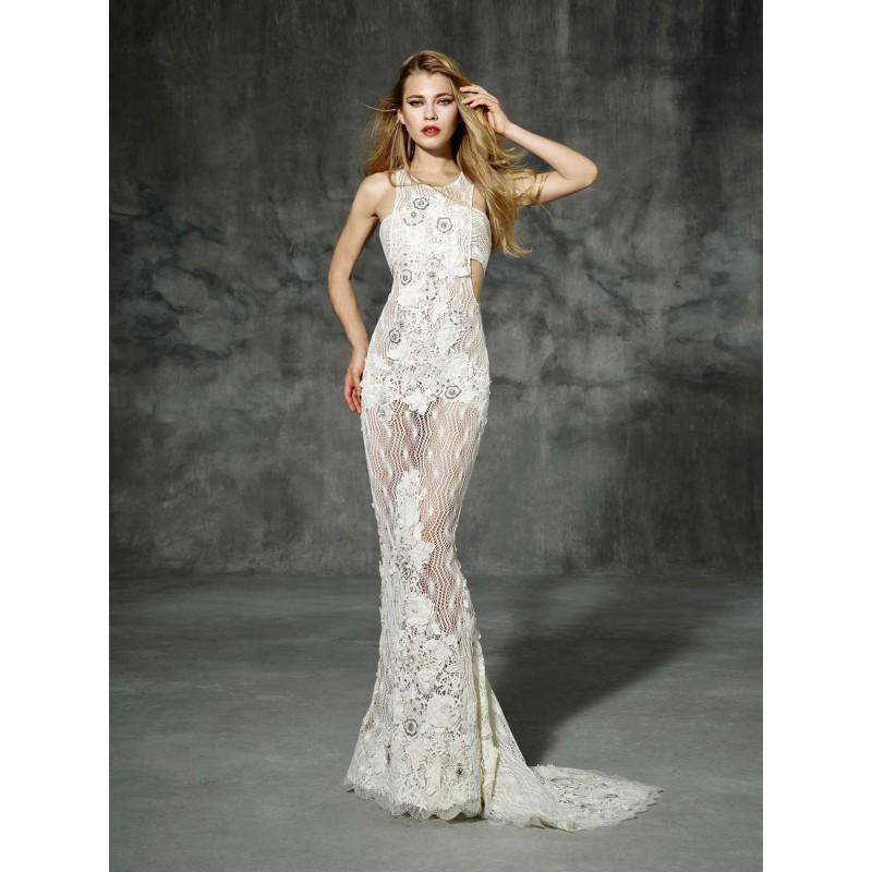 TIBIDABO (YolanCris) 2016 Boho Folk TIBIDABO Sirena Otros Largo - Vestidos de novia 2017   Vestidos de novia barato a precios asequibles   Eventos En oferta