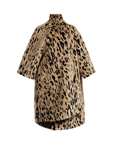 Balenciaga coat animal