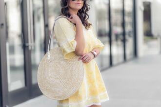thestyledfox blogger dress jewels bag shoes sunglasses