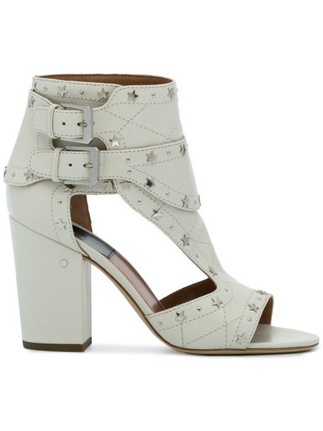 LAURENCE DACADE women sandals leather white shoes