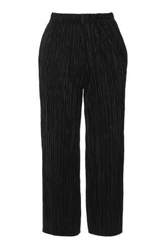pants pleated cropped pants