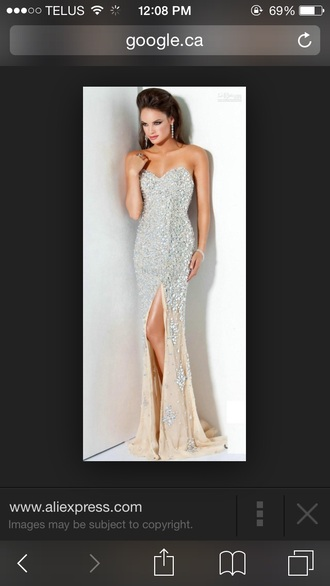 sparkle heart prom dress shiny model slit long prom dress formal event outfit prom gown dress style sparkly dress sparkle dress prom short sequin fashion mermaid prom dress slit dress prom gowns silver long prom dress long dress www.ebonylace.net ebonylacefashion