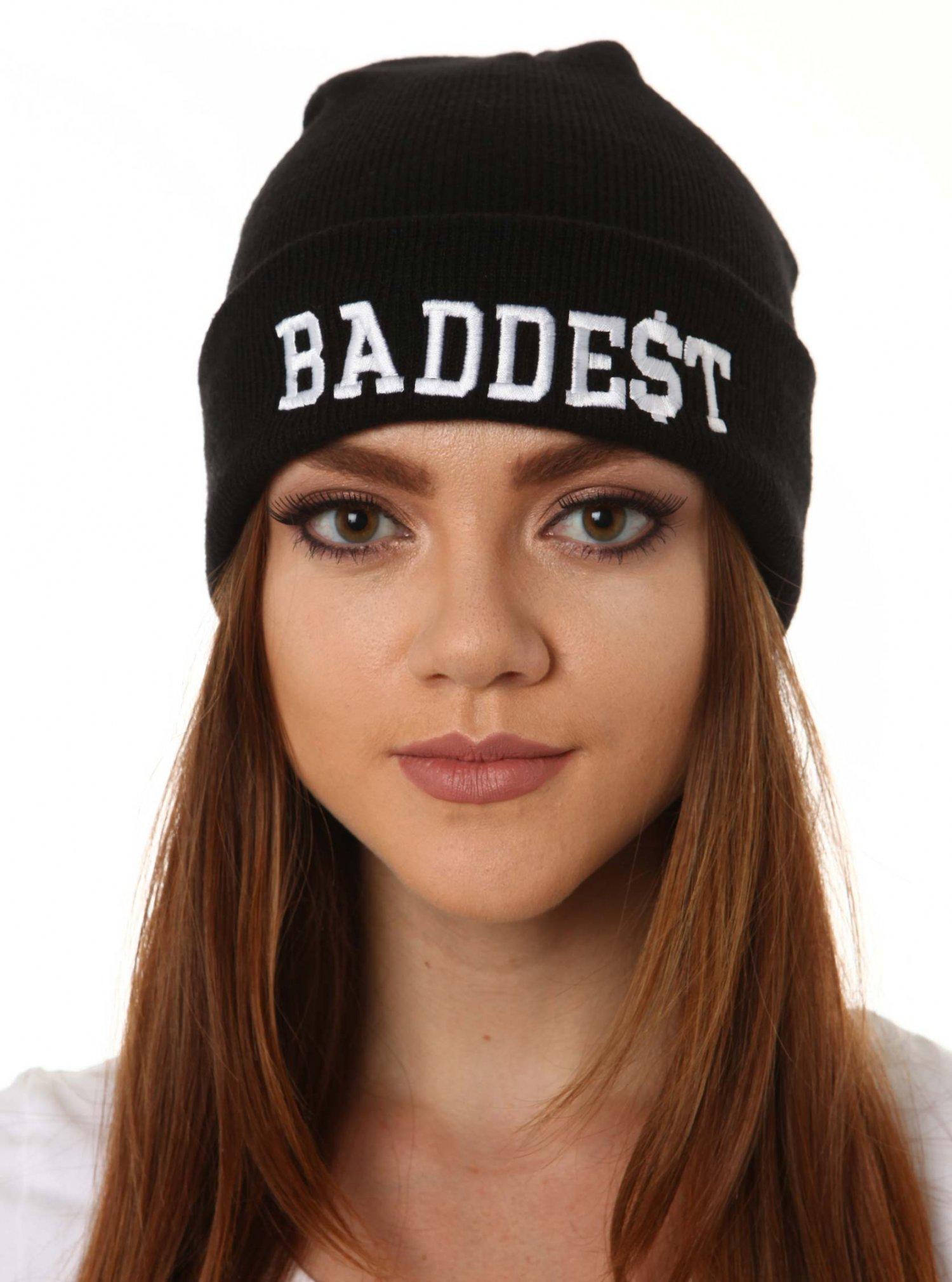 Black Beanie - Baddest Beanie | UsTrendy