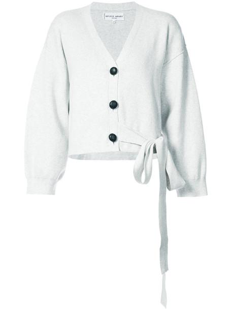 cardigan cardigan ballet women cotton grey sweater