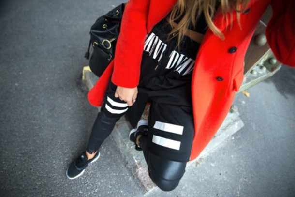 pants style red