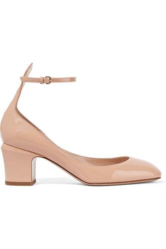 tan pumps leather beige shoes
