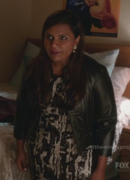 jacket the mindy project mindy kaling sequin dress