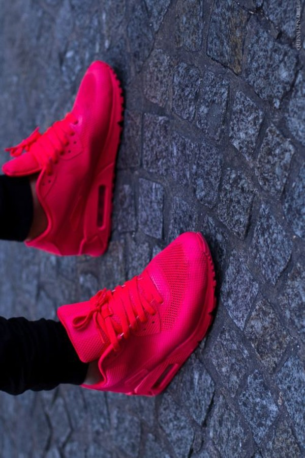 air max 90 hyperfuse solar red for sale
