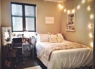 home accessory bedding gold cream shams pillow dorm room home decor bedroom
