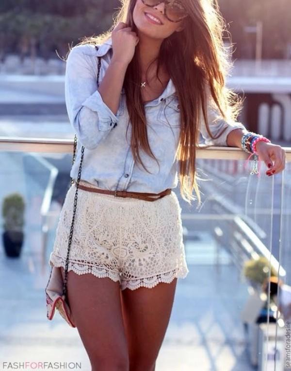 blouse shorts pants
