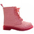 ROMWE | Riveted Pink Martin Boots, The Latest Street Fashion