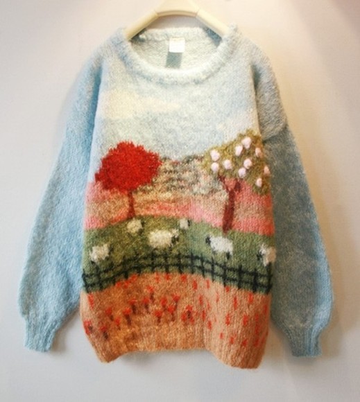 sweater farm wool