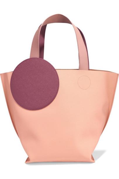 Roksanda leather blush bag