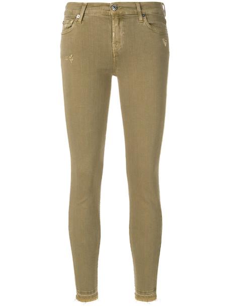 jeans women fit nude cotton