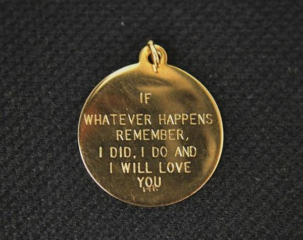 bracelets charm gold quote on it love love quotes valentines day gift idea jewels necklace quote on it jewelry engraved message chain if whatever happens friend friendship pendant