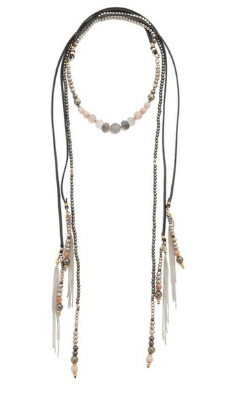 necklace nude jewels