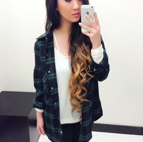 jacket flannel flannel shirt tumblr clothes