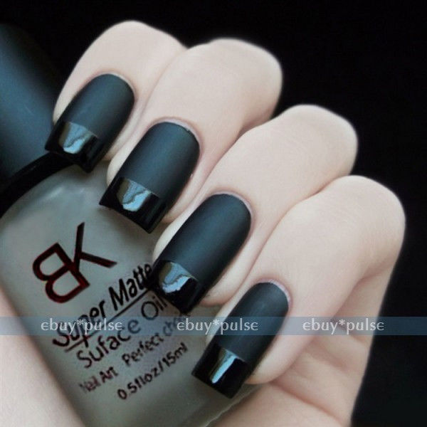 15ml Nail Art Polish Magic Oil Color Supper Matte Dull Effect