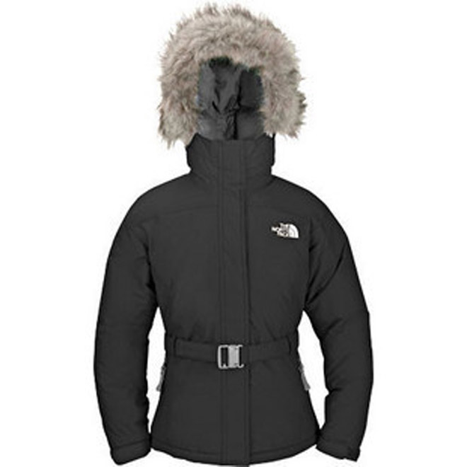 North Face Greenland Down Parka Black-Womens
