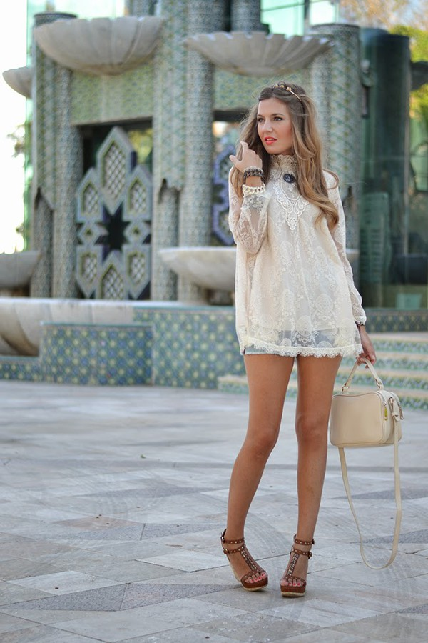 mi aventura con la moda blouse shoes bag make-up shorts