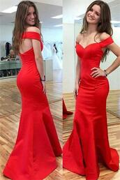 dress,prom dress,evening dress,sexy prom dress,long prom dress,red prom dress,mermaid prom dress,handmade prom dresses,off shoulder prom dresses,party dress,modest prom dresses,okdresses