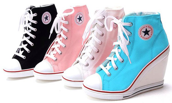 shoes converse high heel high