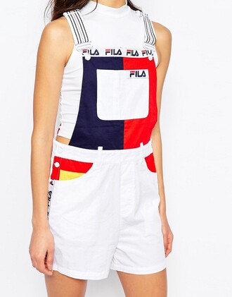 dress overalls fila sportswear sold out everywhere white