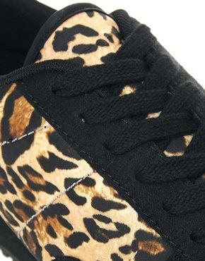 ASOS | ASOS Sneakers With Leopard Print at ASOS
