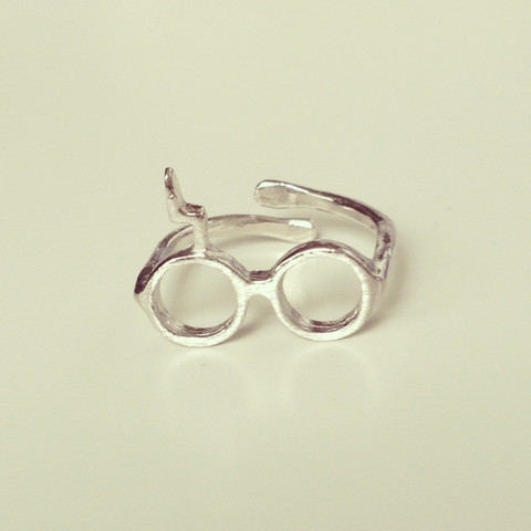 louun — Harry Potter Glasses Ring