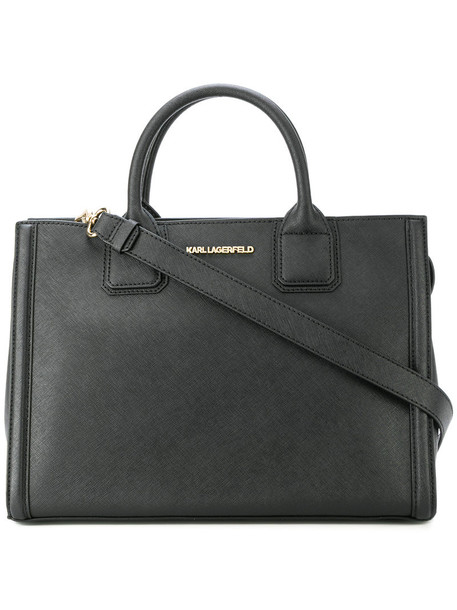 Karl Lagerfeld - classic tote - women - Leather - One Size, Leather