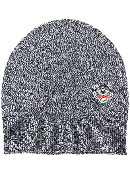 tiger beanie grey hat