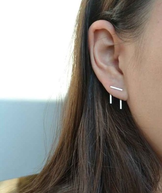 jewels silver seconds metal jewellery girl earing earing cuff earing set earings