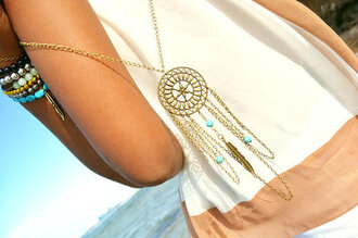 jewels necklace dreamcatcher
