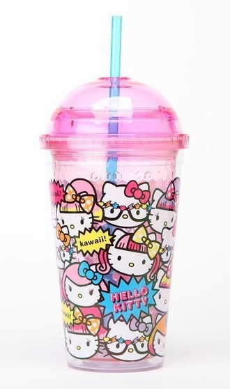 home accessory hello kitty pink purple pop art pop punk style love girly pastel unicorn