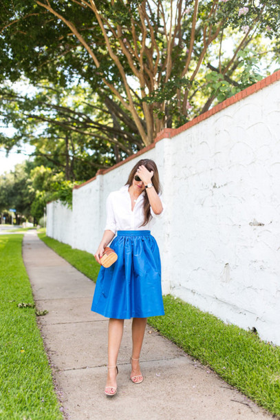 dallas wardrobe // fashion & lifestyle blog // dallas - fashion & lifestyle blog blogger shirt skirt bag shoes sunglasses