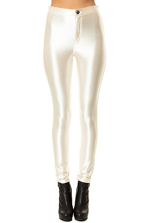 Glamorous Pant Ladies Disco in Cream -  Karmaloop.com
