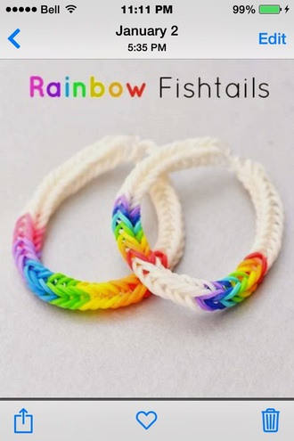 jewels bracelets rainbow