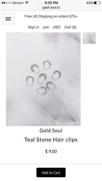 jewels hair clip hair accessory