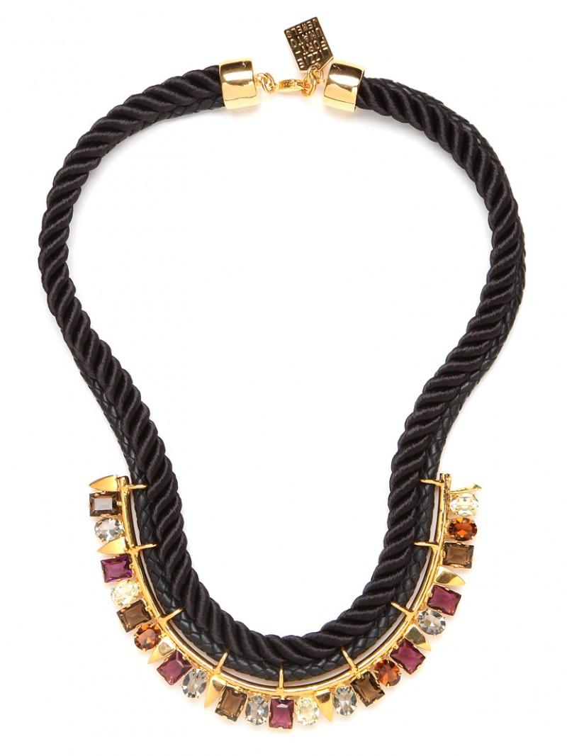 Lizzie fortunato the paris confidential necklace