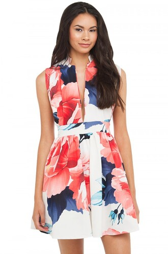 dress akira floral dress