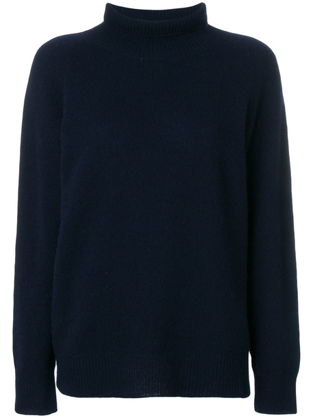 BARENA jumper women blue wool sweater