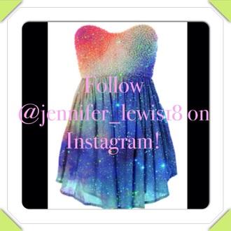 dress rainbow dress rainbow style fashion
