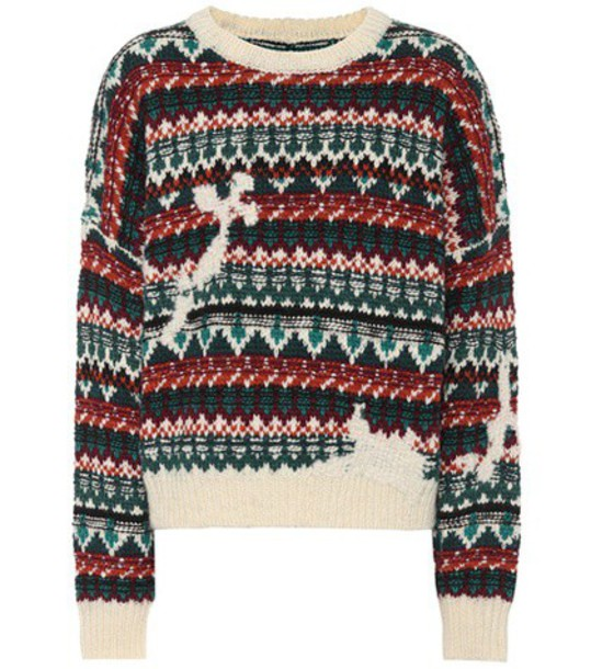 Isabel Marant, Étoile Elroy wool and alpaca-blend sweater