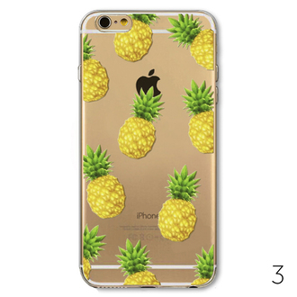 phone cover pineapple print iphone cover iphone case summer tropical cool teenagers boogzel