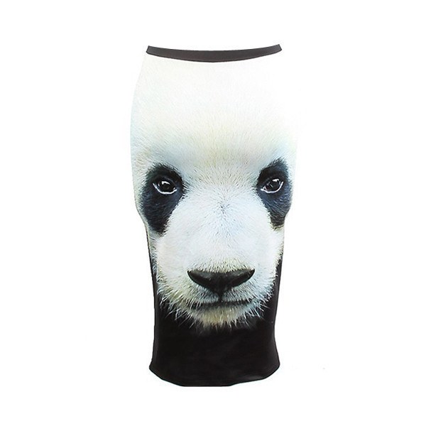skirt panda panda print panda print skirt graphic print skirt graphic skirt long skirt