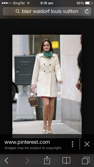 coat gossip girl blair