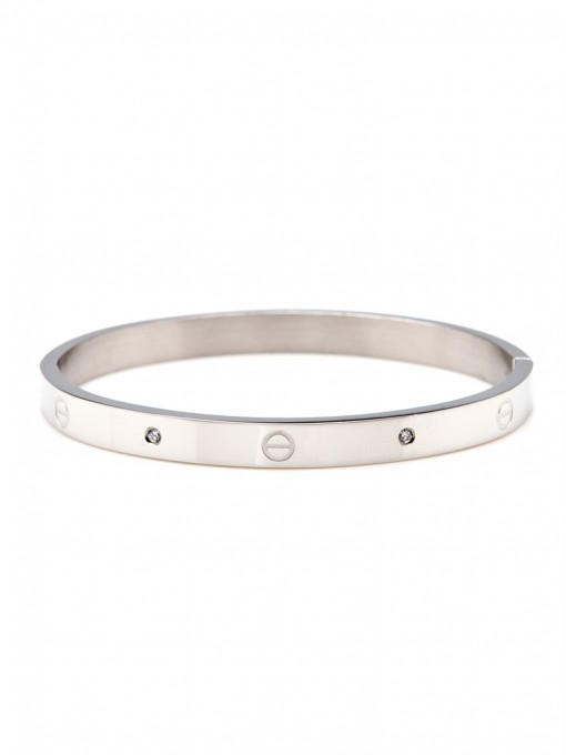 ca451d62863 Urban Hardware Bangle – Silver by ThePeachBox - by ThePeachBox ...
